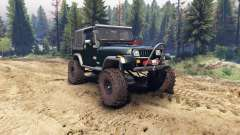 Jeep YJ 1987 dark green