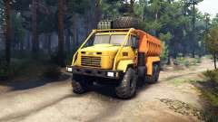 KrAZ-6322 v3.0 yellow