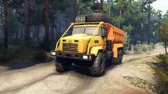 KrAZ-6322 v3.0 yellow