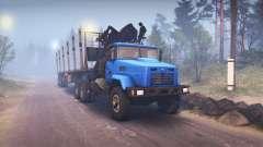 KrAZ-6322 v3.0 blue