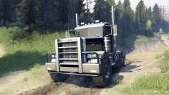 Peterbilt 379 v1.1 black and green
