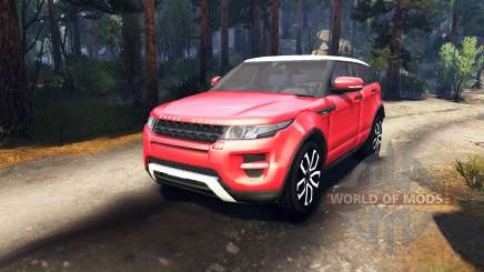 Range Rover Evoque for Spin Tires