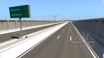 Highway Matrix for BeamNG Drive