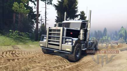 Peterbilt 379 v1.1 black for Spin Tires