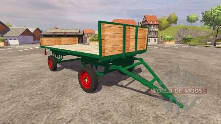 Trailer for bales for Farming Simulator 2013