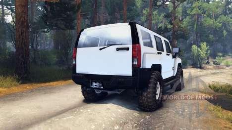 Hummer H3 v0.2 for Spin Tires