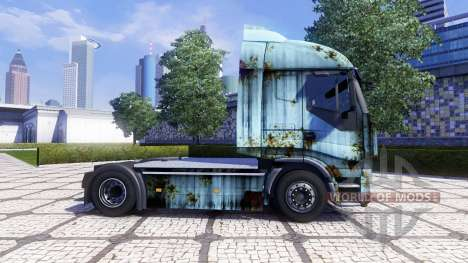 Skin Rusty on the tractor unit Iveco Stralis for Euro Truck Simulator 2