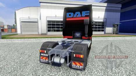 Skin Stocker Transporte for DAF XF tractor unit for Euro Truck Simulator 2