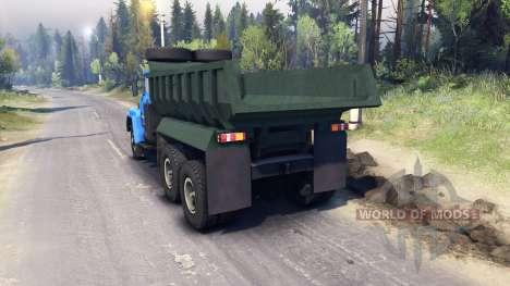 KrAZ-260 v3.0 for Spin Tires