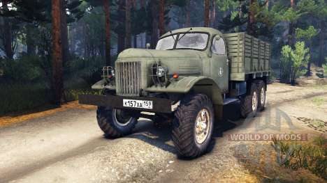 ZIL-157 Male for Spin Tires