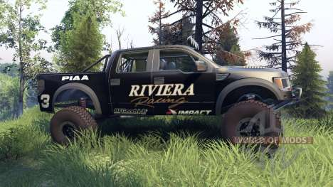 Ford Raptor Pre-Runner riviera for Spin Tires