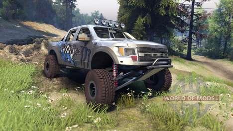 Ford Raptor Pre-Runner monster for Spin Tires