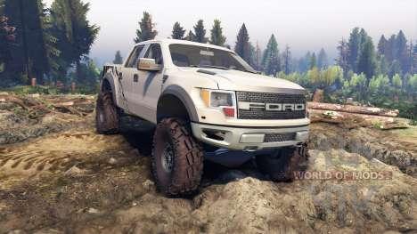 Ford Raptor SVT v1.2 factory pale adobe for Spin Tires