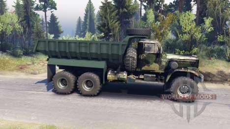KrAZ-255 v3.1 for Spin Tires