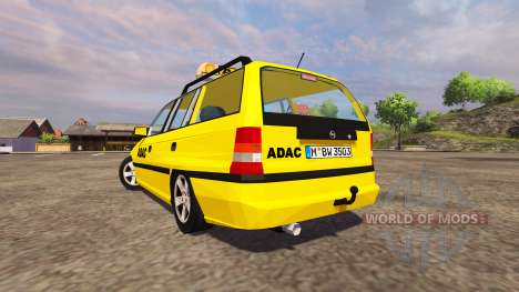 Opel Astra Caravan ADAC for Farming Simulator 2013
