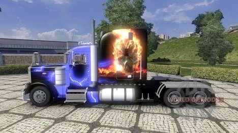 Peterbild 379 new skin for Euro Truck Simulator 2