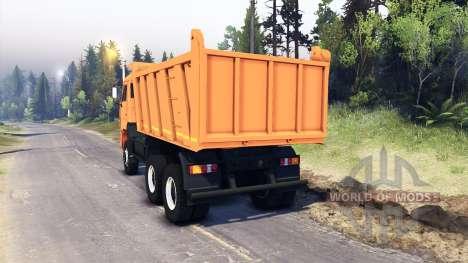 KamAZ-6522 v0.1 for Spin Tires