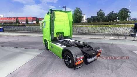 Skin XXL GHP for Volvo truck for Euro Truck Simulator 2