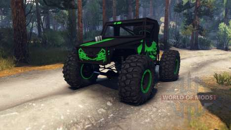 Volkswagen Truggy for Spin Tires