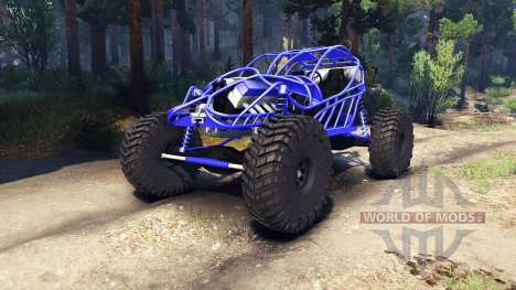 Screamin Blue for Spin Tires