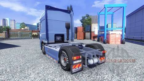 DAF XF 105 Blue Edition for Euro Truck Simulator 2