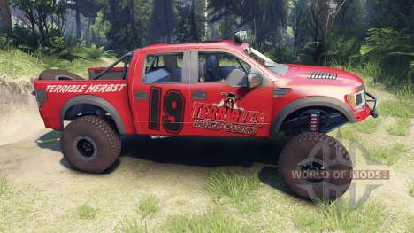 Ford Raptor Pre-Runner terrible herbst for Spin Tires