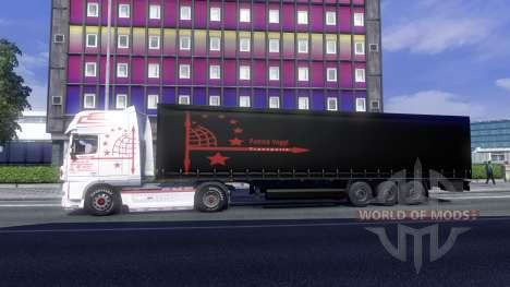 Skin Patrick Vogtt for DAF XF tractor unit for Euro Truck Simulator 2