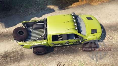 Ford Raptor Pre-Runner borla for Spin Tires