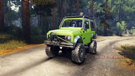 Suzuki Samurai Extreme for Spin Tires