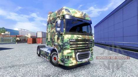Skin Tarnmuster for DAF XF tractor unit for Euro Truck Simulator 2