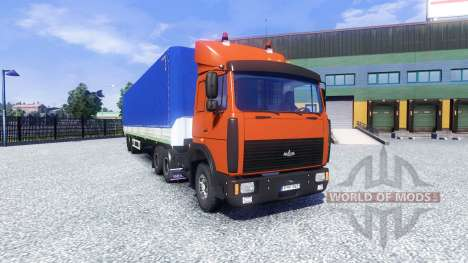MAZ-6422 v2.0 for Euro Truck Simulator 2