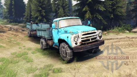 ZIL-130 v1.4 for Spin Tires
