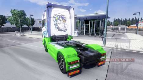 Skin Gryf for Scania truck for Euro Truck Simulator 2