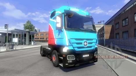 Skin Ihro Jumbo GmbH on the tractor Majestic for Euro Truck Simulator 2