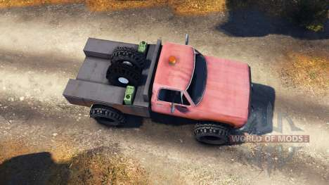 Dodge Power Wagon B-17 Rocks v1.2 for Spin Tires