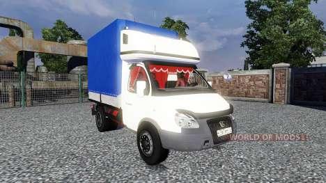 GAZ-3302 Gazelle for Euro Truck Simulator 2