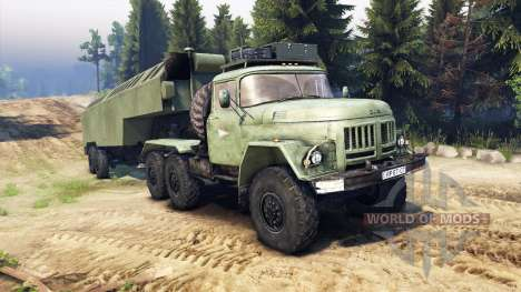 ЗиЛ-137 trailer kung for Spin Tires