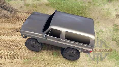 Chevrolet K5 Blazer 1975 for Spin Tires