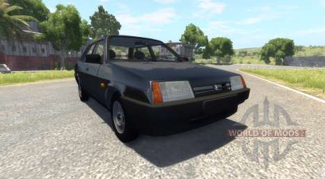ВАЗ-21099 Black Edition for BeamNG Drive