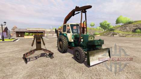 YUMZ-6L grab loader for Farming Simulator 2013