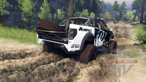 Ford Raptor Pre-Runner fox for Spin Tires
