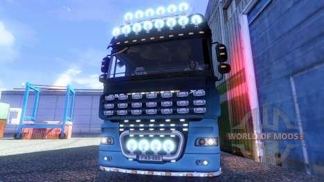 DAF XF Tuning Light for Euro Truck Simulator 2
