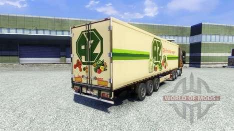 Skin AZ Kempen on the trailer for Euro Truck Simulator 2