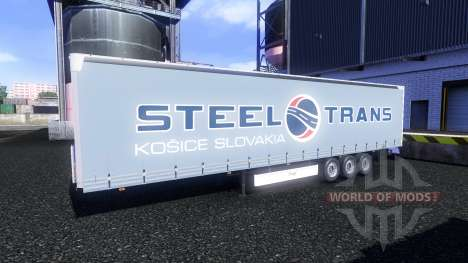 Skins on Fliegl semi-trailers for Euro Truck Simulator 2