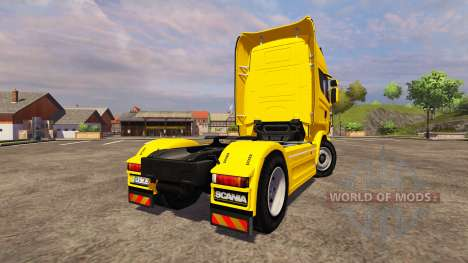 Scania R560 yellow for Farming Simulator 2013