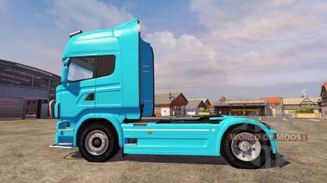 Scania R560 blue for Farming Simulator 2013