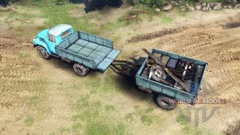 ZIL-130 v1.4 for Spin Tires