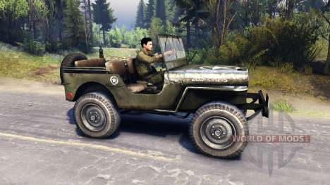 Jeep Willys [13.04.15] for Spin Tires