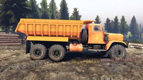 KrAZ-255 B1 v3.0 for Spin Tires