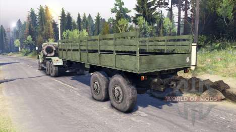 ZIL-137. for Spin Tires